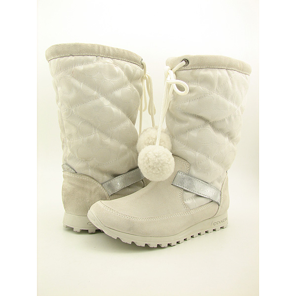 Post image for COACH Juniper Boots Snow Shoes White Womens