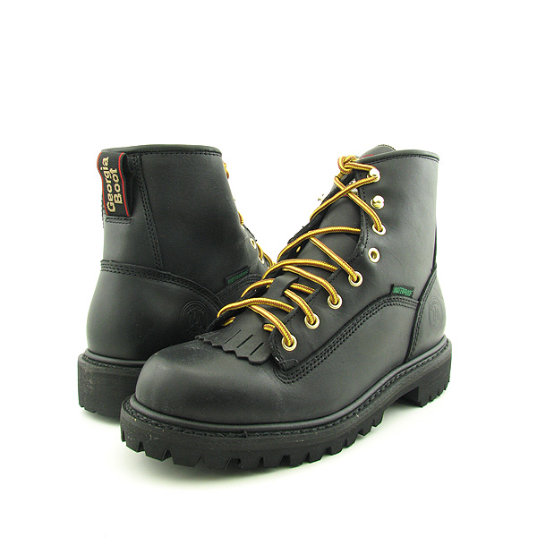 Post image for GEORGIA G7220 6 Inch Waterproof Logger Boots Work Shoes Black Mens