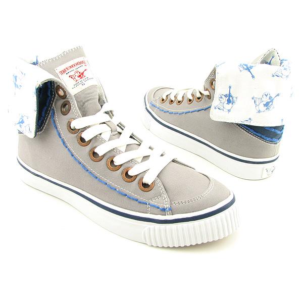 true religion hanabel t canvas gray shoes mens 12 ebay