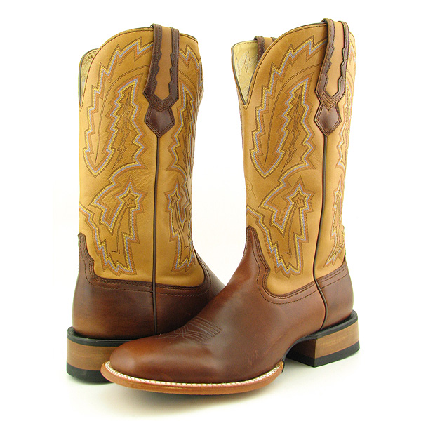 Post image for ROCKY 2882 Techno Ride Forth Worth Wide Boots Cowboy Shoes Brown Mens