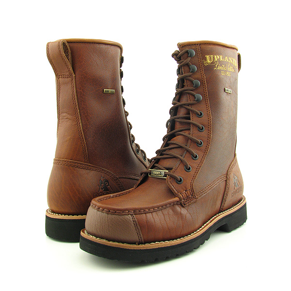 Post image for ROCKY 1776 Upland LTD GT Bison W/Shark Tip Boots Hiking Shoes Brown Mens