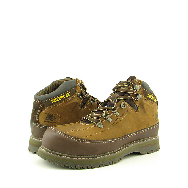 Post image for CAT CATERPILLAR P89829 Britton WP ST Boots Work Shoes Brown Mens
