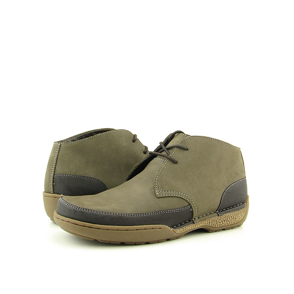BASS Terra Boots Casual Shoes Gray Mens