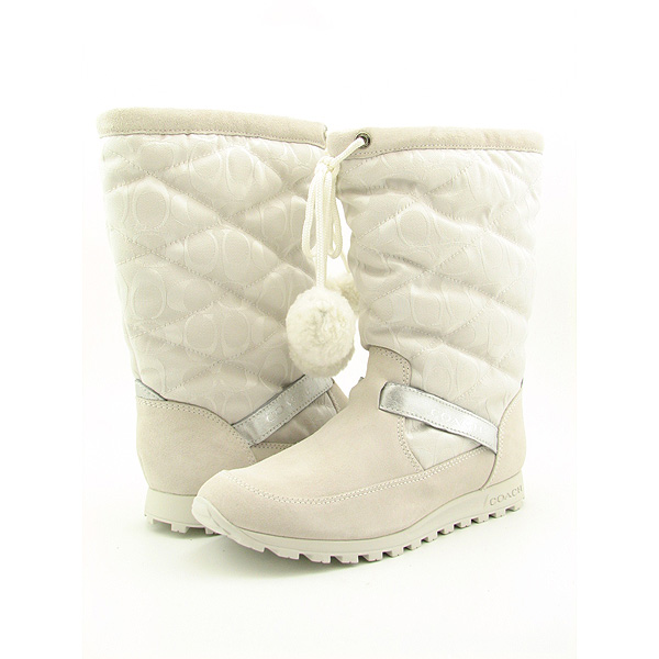 Post image for COACH Juniper Boots Shoes White Womens