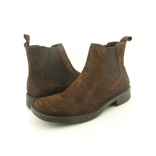 BORN Hemlock Boots Casual Shoes Brown Mens