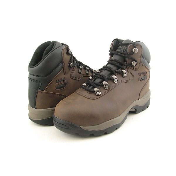 Post image for HI TEC Altitude WP Safety Toe Boots Hiking Shoes Brown Mens