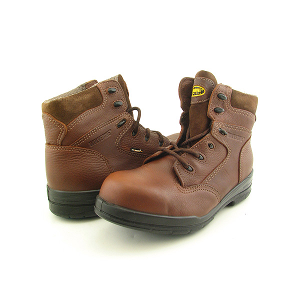 Post image for WOLVERINE W01694 SEMC Safety Toe Extra Wide Boots Work Shoes Brown Mens