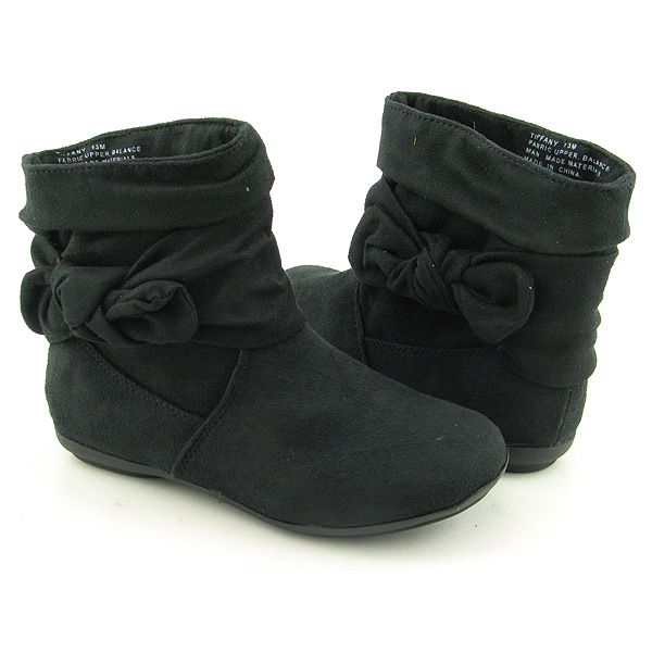 Post image for RAMPAGE Tiffany Ankle Boots Shoes Black Youth Kids Girls