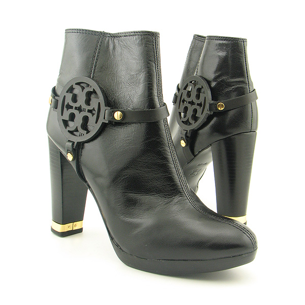 Post image for TORY BURCH Whitney Boots Ankle Shoes Black Womens