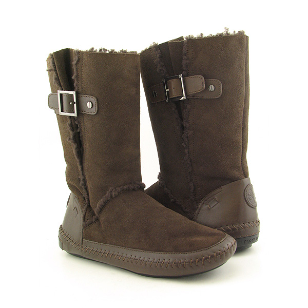 Post image for TORY BURCH Boho Buckle Boots Winter Shoes Brown Womens