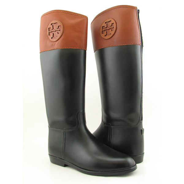 Post image for TORY BURCH Winnie Rain Boot Boots Rain Shoes Black Womens