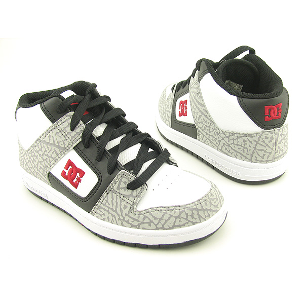 White DC Shoes for Girls