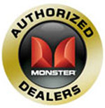 Authorise re-seller of Monster products badge