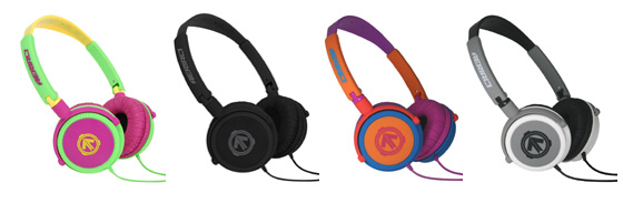 Aerial7 Matador in-line microphone headphones in joker,midnight,graffiti and shade