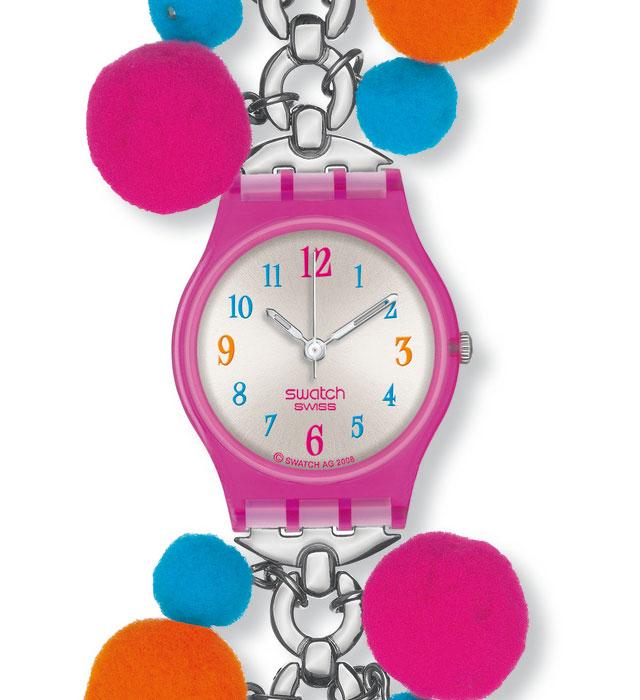 Renkli Renkli Swatch Saatler
