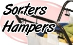 Sorters, Hampers and ALL Laundry Aides