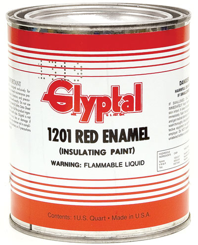 Glyptal Red Insulating Paint