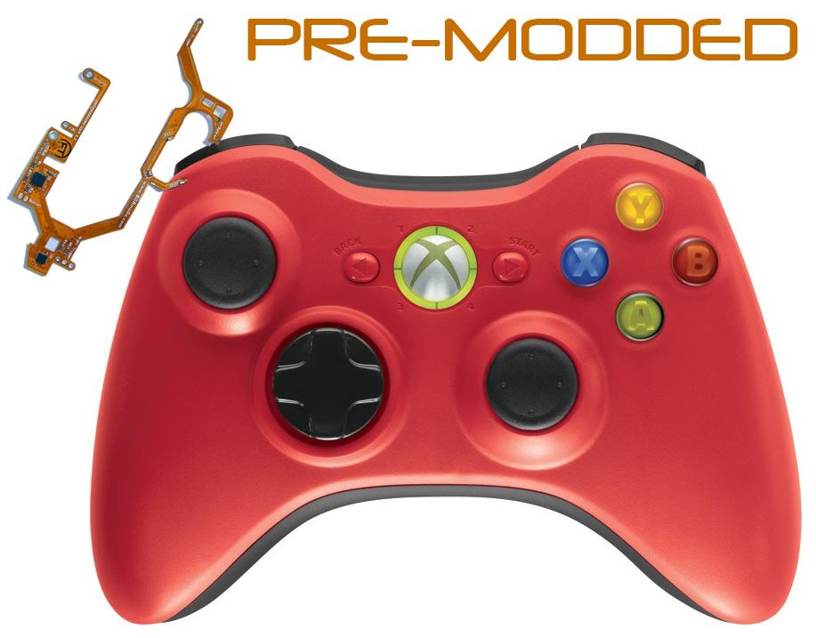 modded xbox 360 controller. Xbox 360 Pre Modded Controller