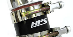 HPS Air Intake Feature HPS Race Proven Silicone Hoses and T-Bolt Clamps