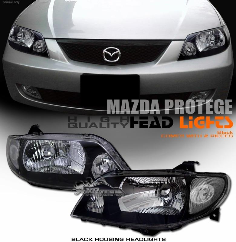 Online Shopping Mazda 323 Light: 99-03 Mazda Familia/protege/323 Headlights And Euro Tail