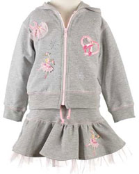 Click here for Baby Baubles ballet skirt and jacket set at SophiasStyle.