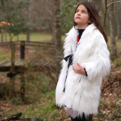 Click here for the Baby Gassy Gooma toddler girls outerwear white winter jacket at SophiasStyle.com