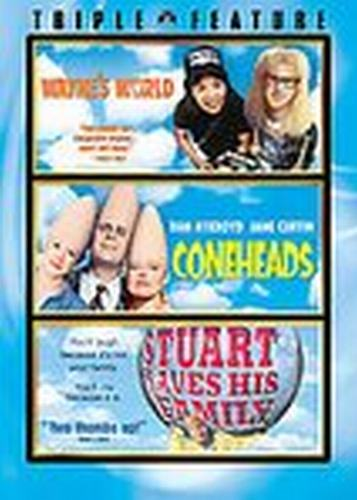 Wayne's World, Coneheads & Stuart Saves His Family DVDs