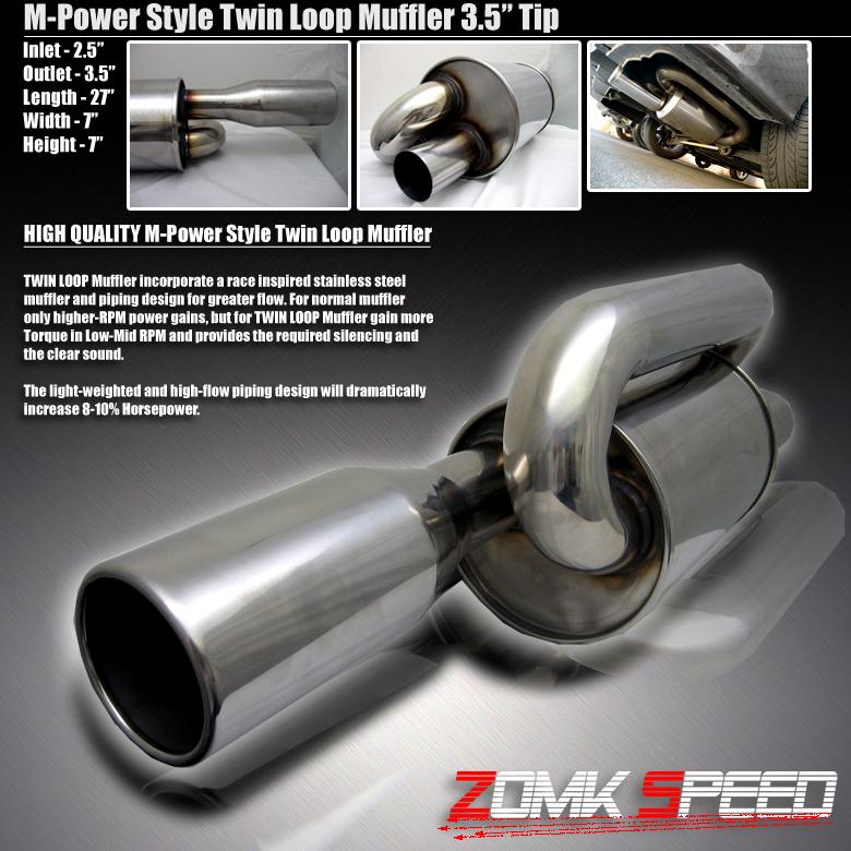Twin Loop Mufflers - ClubRoadster net