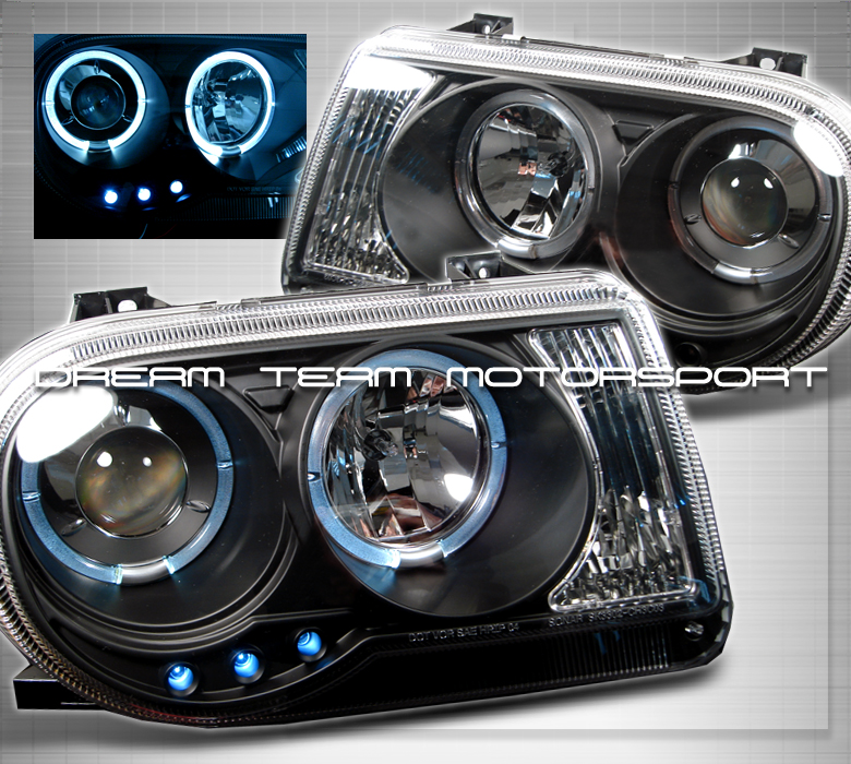 Col Hemi 2006 Chrysler 300 Specs Photos Modification: Is There Any Black Housing Headlight For CSRT8?