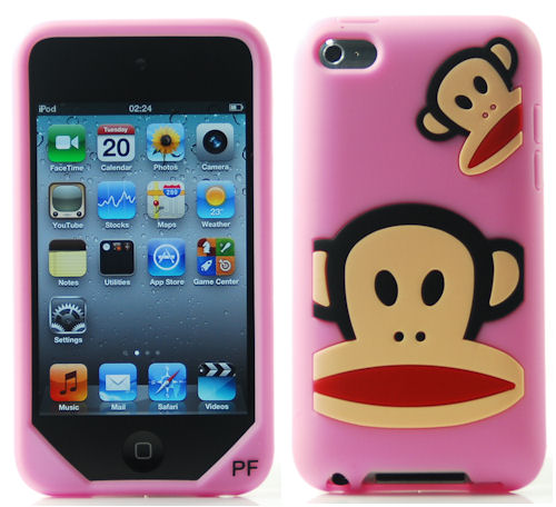 This stylish Paul Frank iPod Touch 4th generation case is made of High