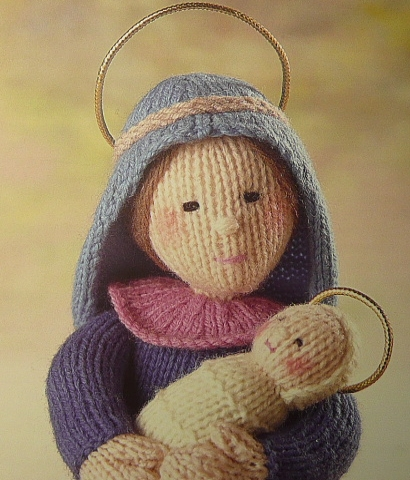 Knitting Pattern Christmas Crib Nativity Scene Booklet : Sirdar Knitting Pattern Book Nativity Collection 285 eBay