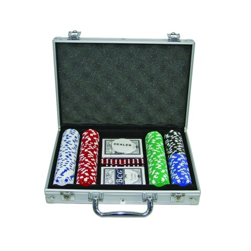 200 Casino Grade 11.5g Poker Chips Set