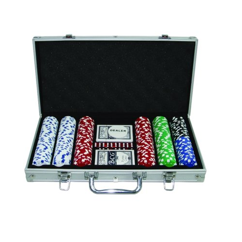 300 Casino Grade 11.5g Poker Chips Set