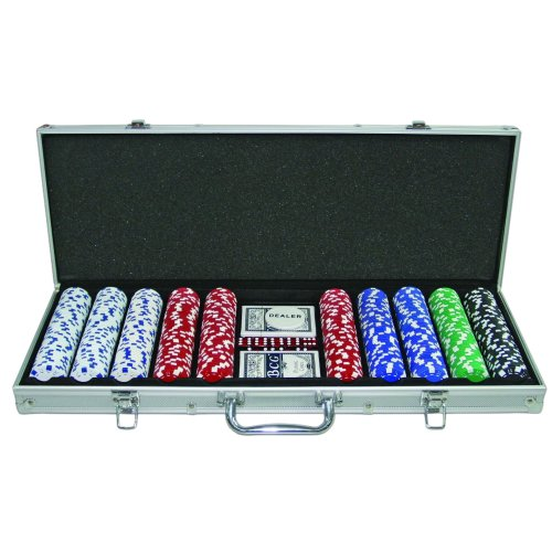 750 Casino Grade 11.5g Poker Chips Set