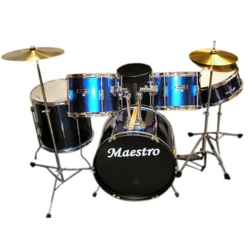 Maestro Music 5 piece Drum Kit