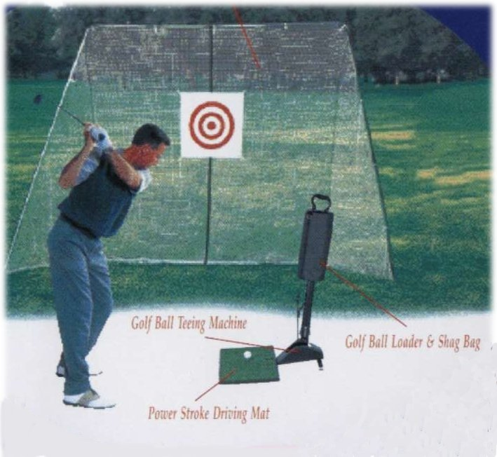 UltraFit 007 Golf Home Driving Range Set