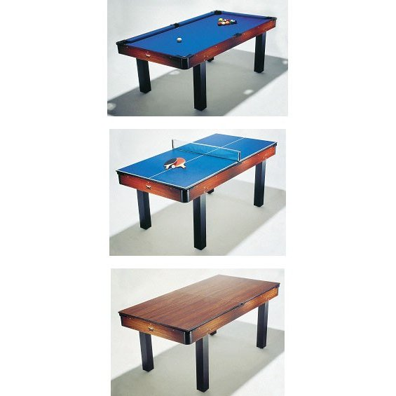 BCE 6ft Pool & Table Tennis Table