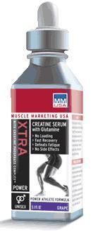MMUSA Xtra Creatine Serum With Glutamine - Orange - 5.1 fl oz
