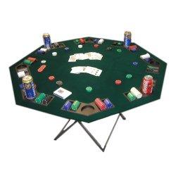 Solex 96401 Folding Poker Table