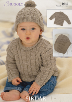 Sirdar%2520Baby%2520Knitting%2520Patterns%2520 %2520Shawls%2520and%2520Blankets%2520 %25201648 Childrens Knitting Patterns