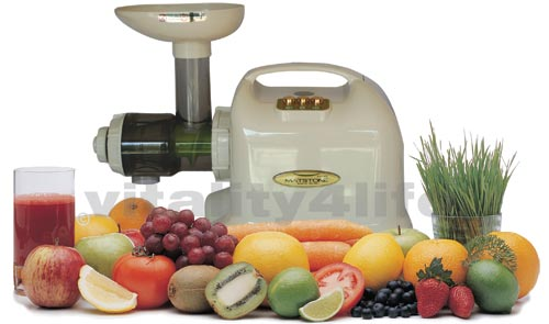 Juicer speed nutrition masticating sunkist center low