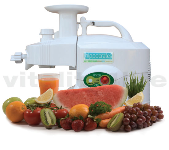 Greenpower Hippocrates juicer