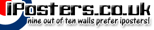 iposters.co.uk - nine out of ten walls prefer iposters!