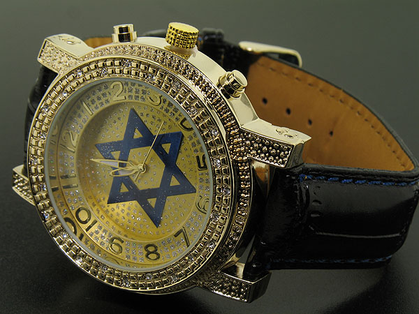gold star of david. Luxury gold star of david hip