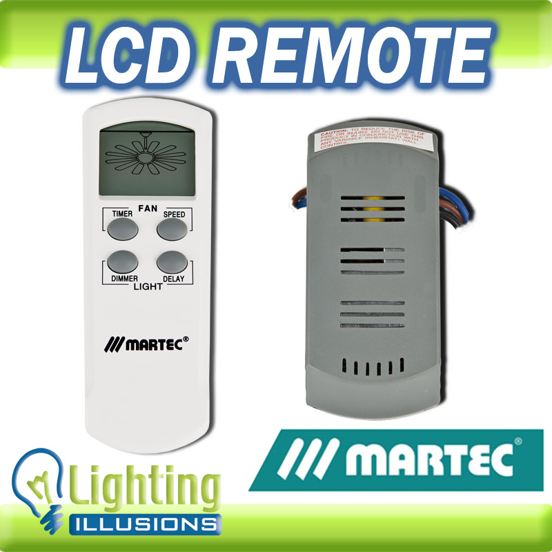 MARTEC LCD Dimmable Remote