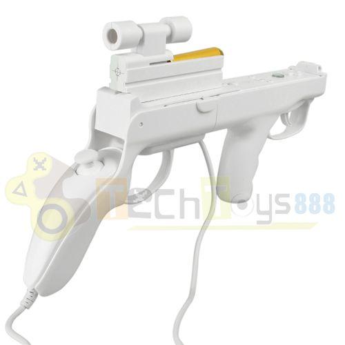 Zapper Gun for Nintendo Wii Remote CONTROLLER Nunchuk [K_1023] - $9.88 : Buy Genuine, Wholesale ...