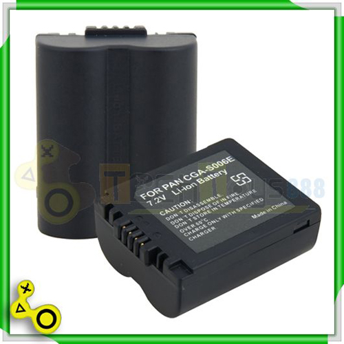 2 x cga s006 battery for panasonic dmc fz7 dmc fz8 fz18 k - Batterie panasonic lumix dmc fz18 ...