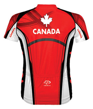 Primal Wear Canada bicycle jersey