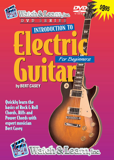 beginner electric guitar lesson dvd video learn play. Black Bedroom Furniture Sets. Home Design Ideas