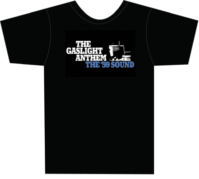 Free Gaslight Anthem T Shirt When Vinyl Collective